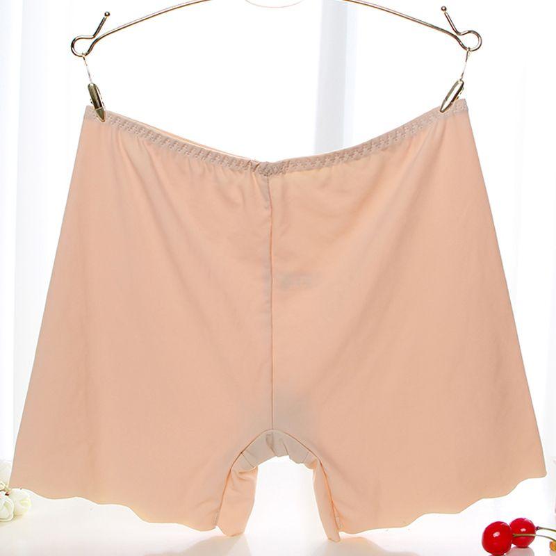 Ice Silk Softness Comfortable Fabric Ladies Safety Pants