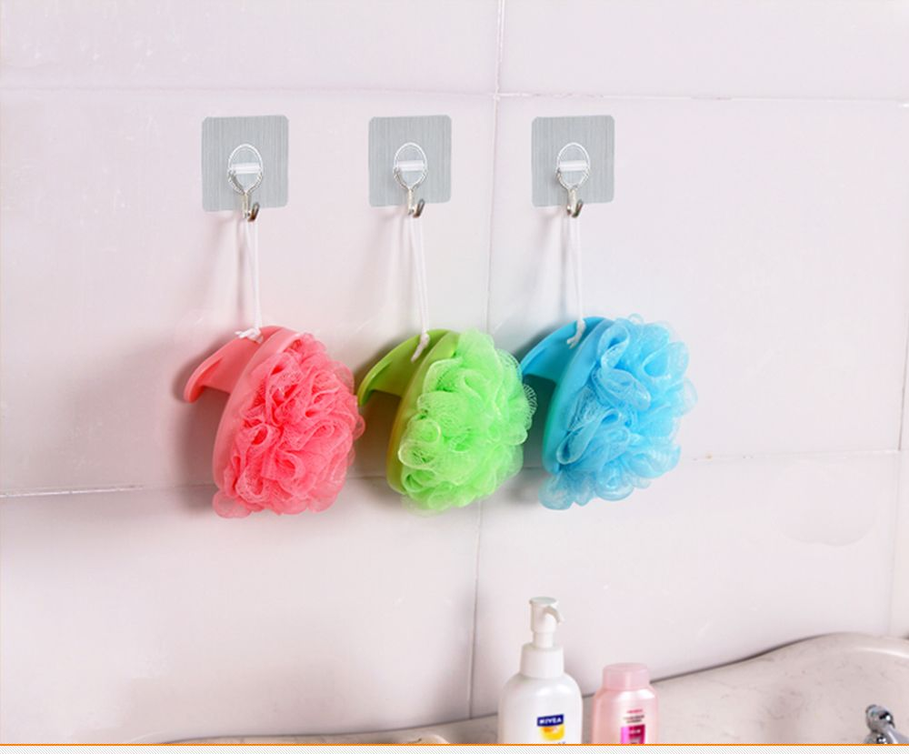 Removable Magic Adhesive Wall Hook for Kitchen Bathroom Bedroom Office 2PCS
