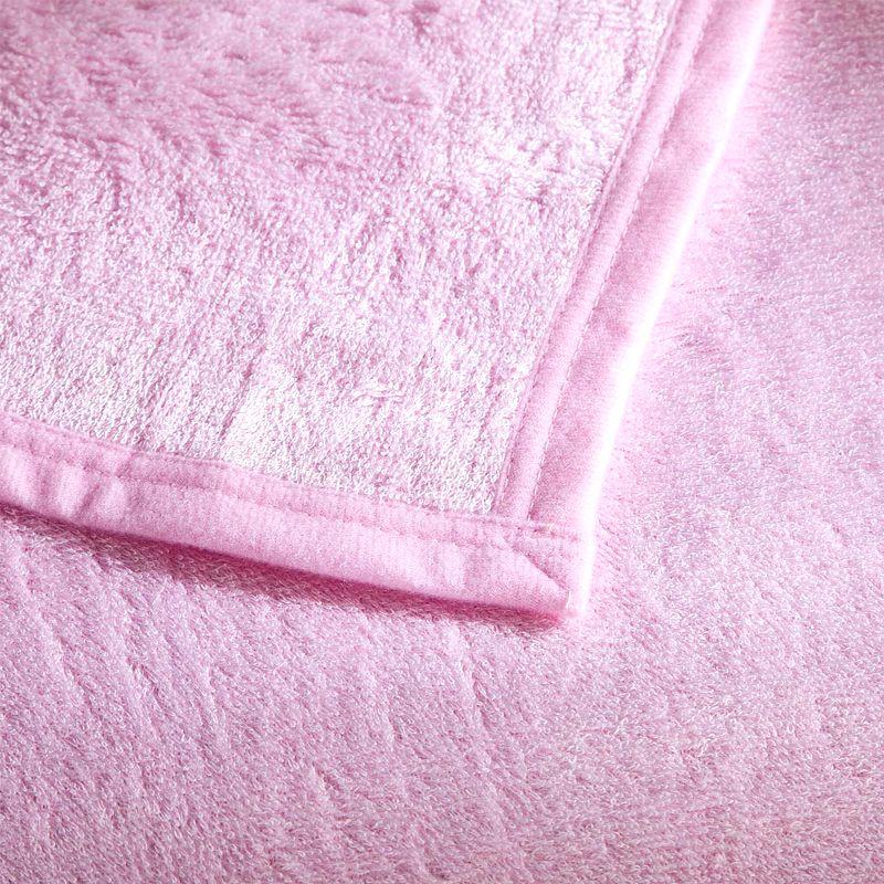 Soft Bamboo Fiber Warp Knitting Blanket