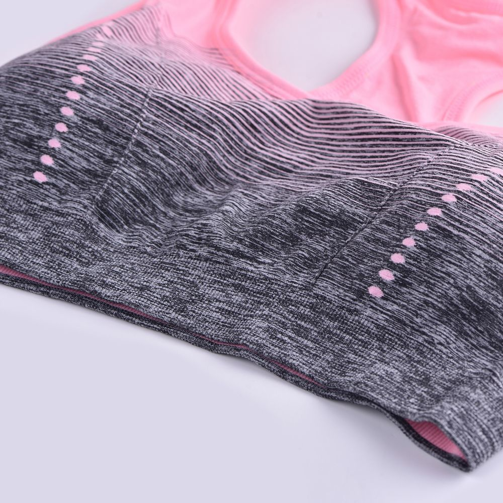 2017 Colorful Women's Seamless Yoga Bra Tops Breathable