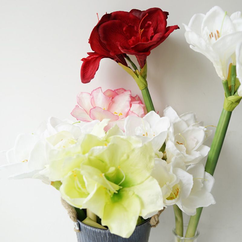 LmDec Modern Orchid Artificial Flower for Home Decoration