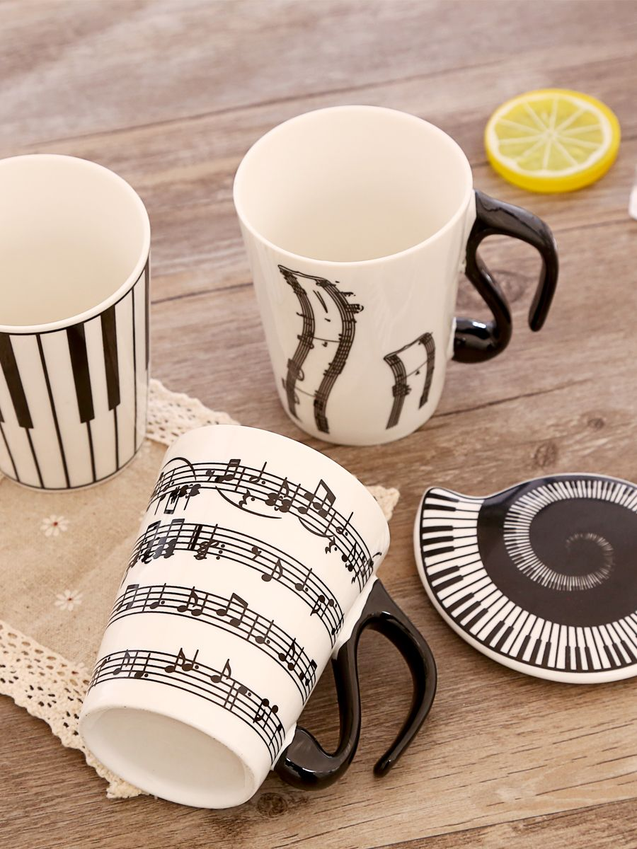 270ML Creative Musical Note Cup