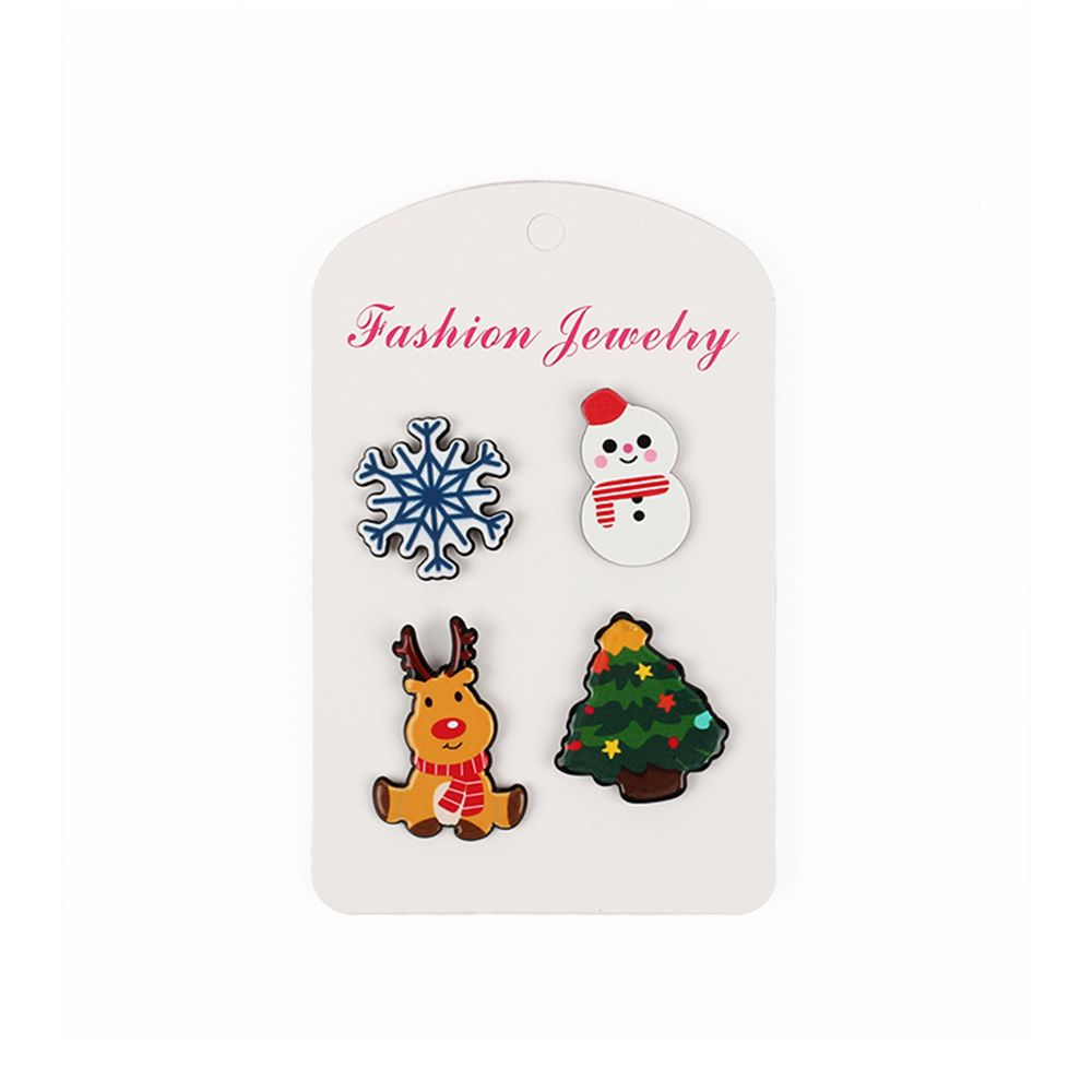 2017 Fashion Christmas Combination Brooch Lady Jewelry