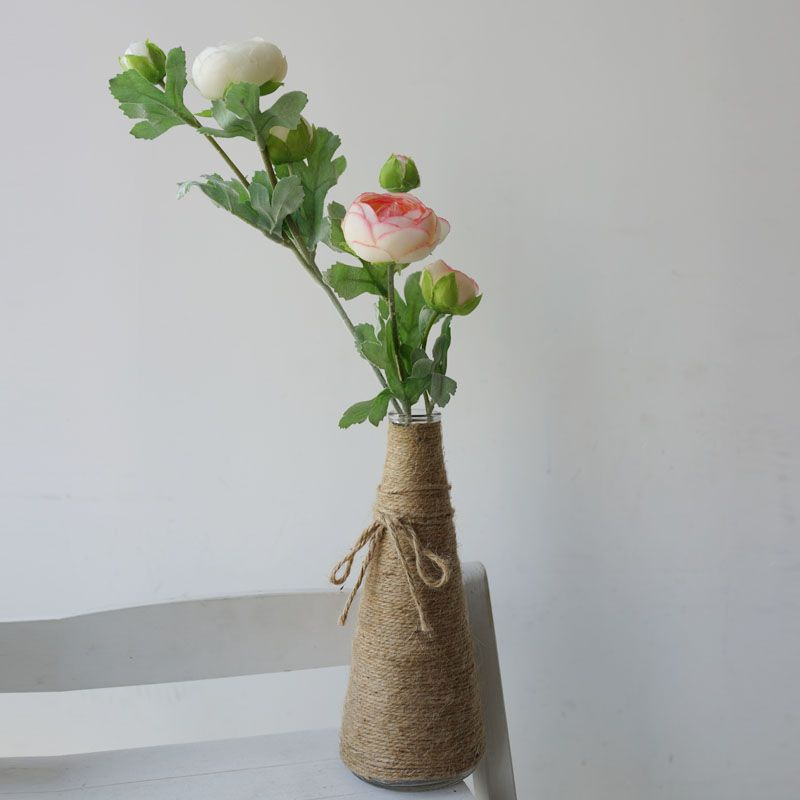 LmDec 17CBH11 Artificial Camellia Flower for Home Decoration