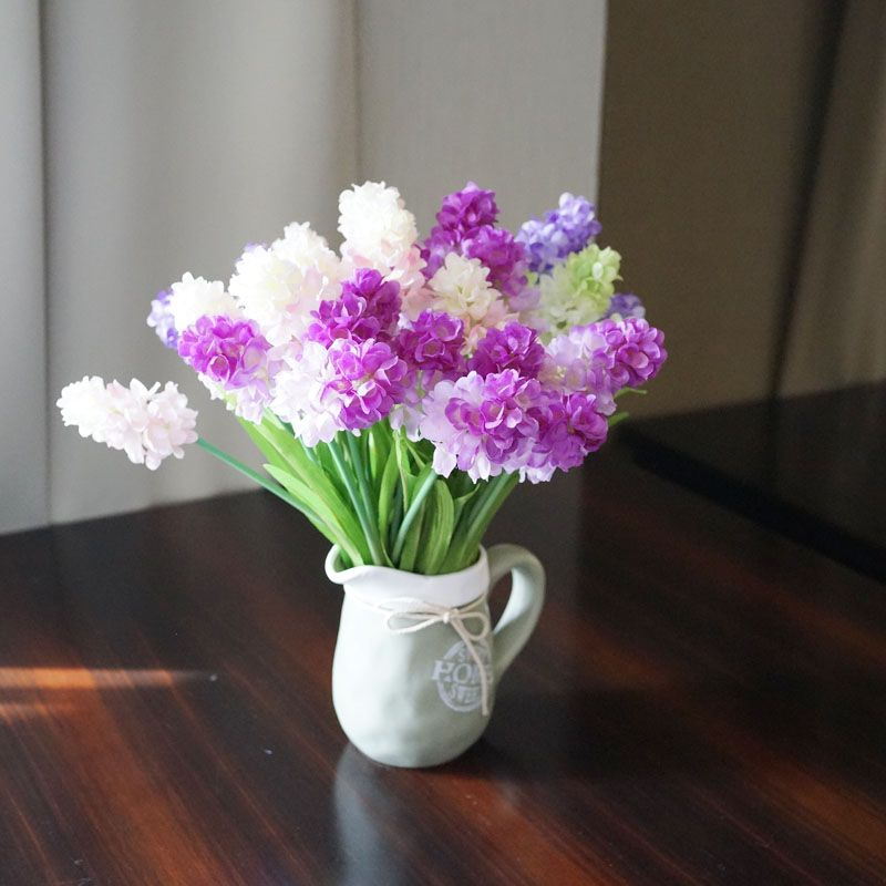 LmDec 17FXZ01 Artificial Hyacinth Flower for Home Decoration