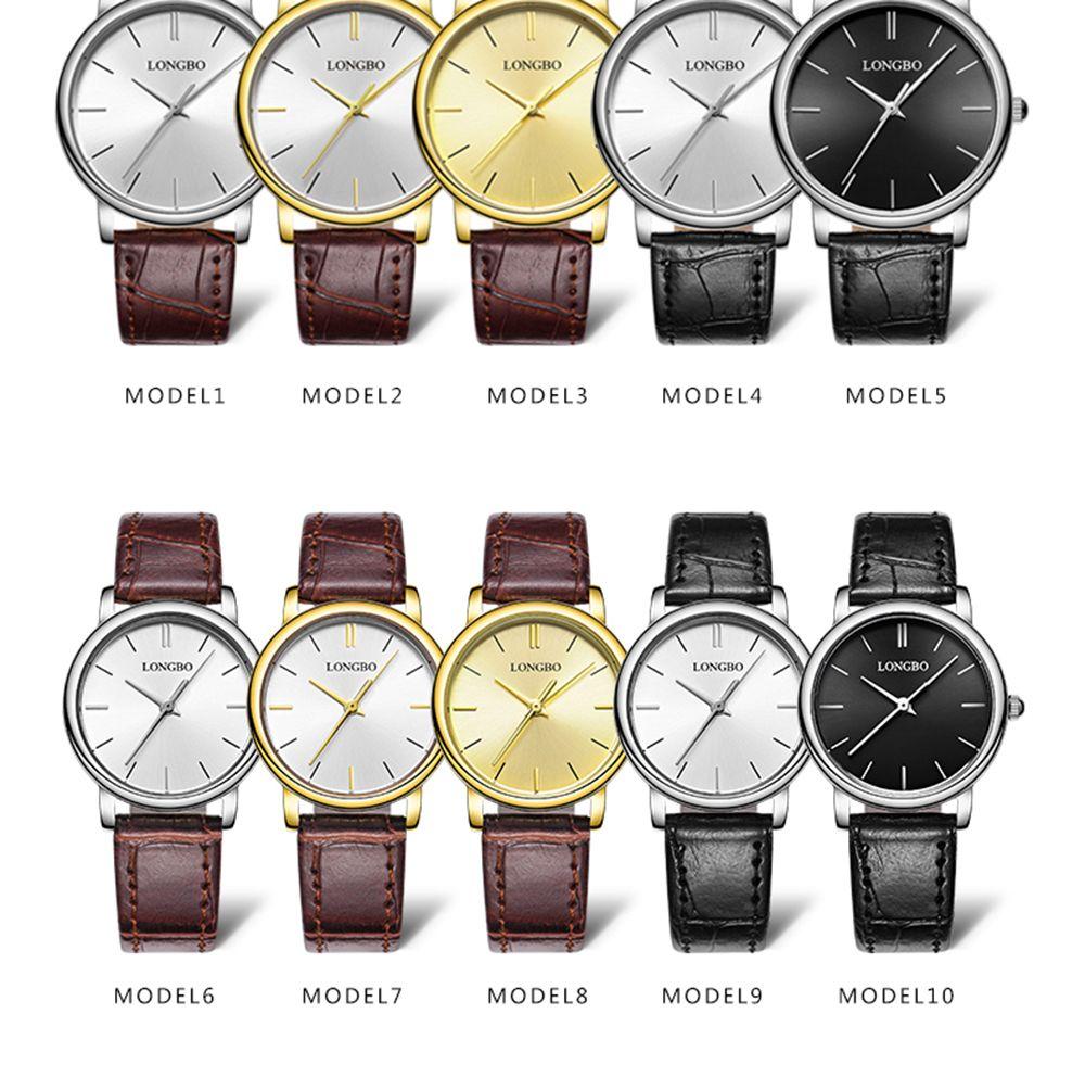 LONGBO 80321 Leisure Steel Band Couple Watch