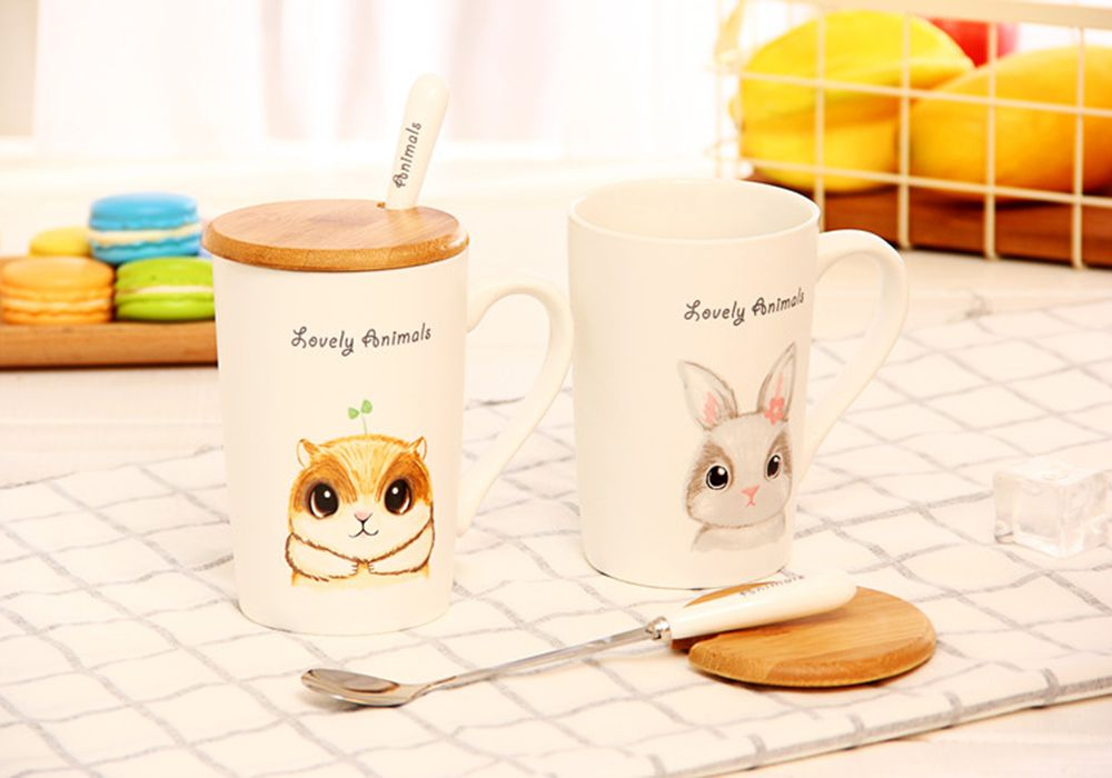 400ML Lustration Animal Cup