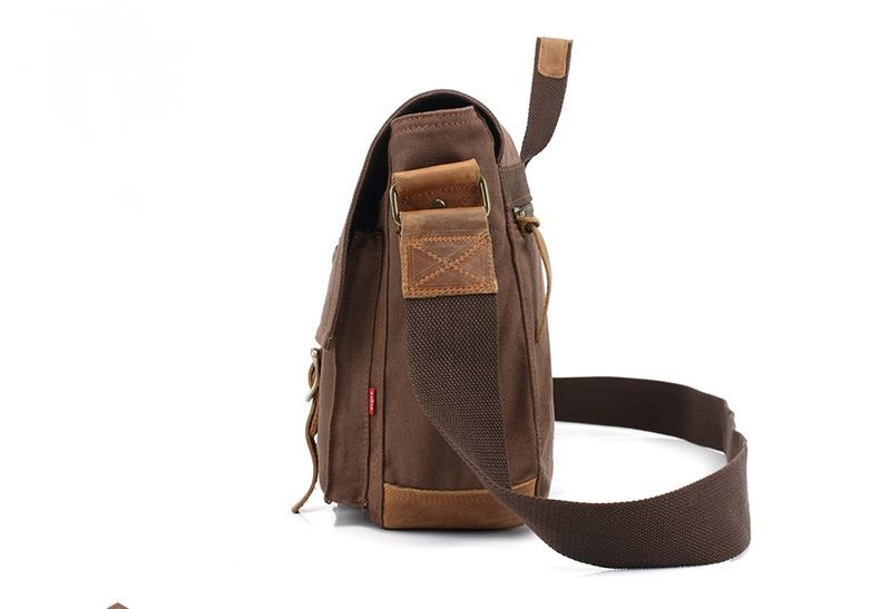 AUGUR Fashion Men Shoulder Bags Male Casual Canva Larger Capacity Travel For Men Business Messenger Bag