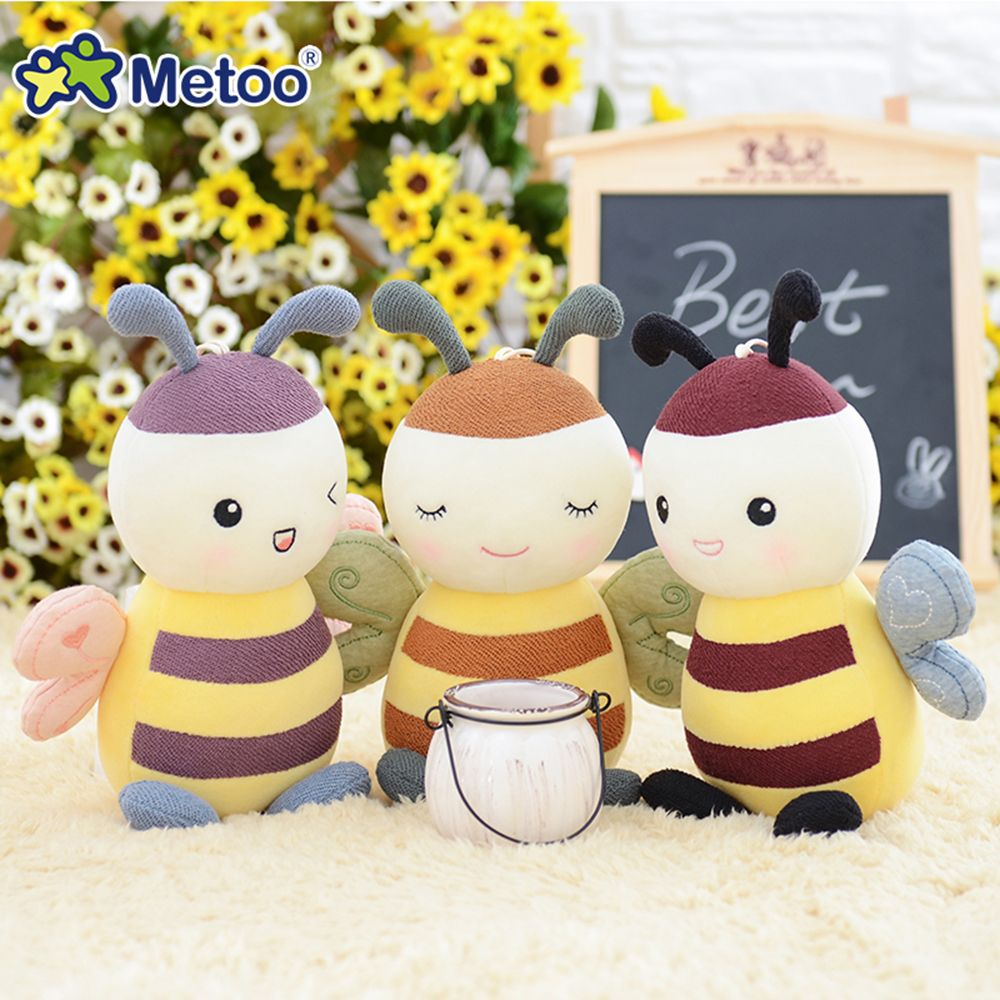 Metoo Fantasy Baby Bee Plush Doll 8 inch