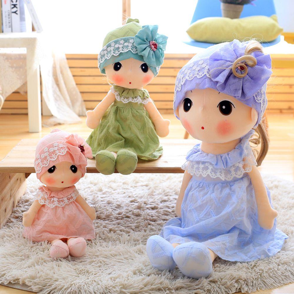 Little Girl Style Stuffed Ragdoll 40cm