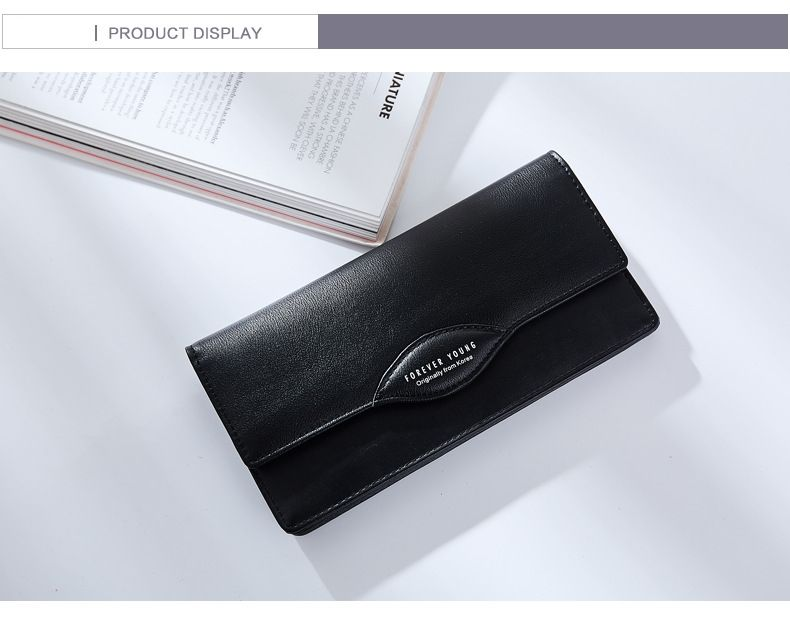 Fashion Women Long Wallets PU Leather High Quality Wallet for Lady