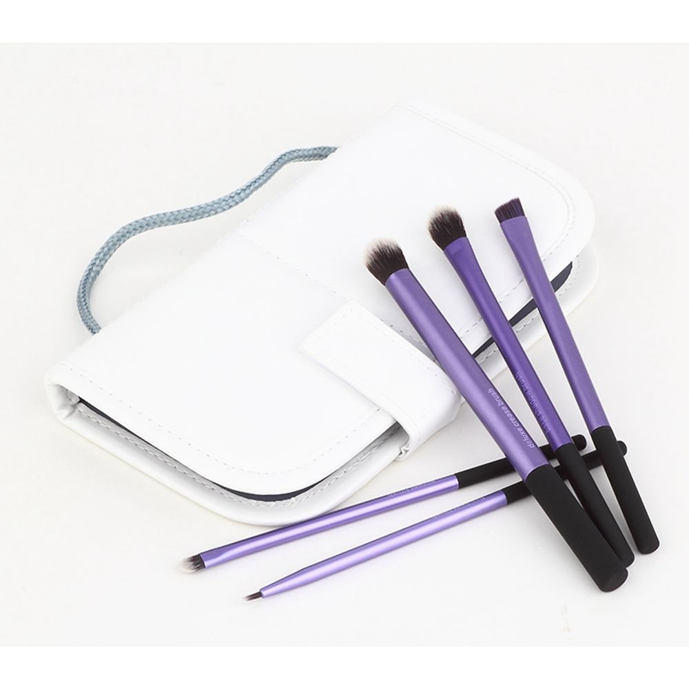 TODO Eye Brush Makeup Brushes with Case 5PCS
