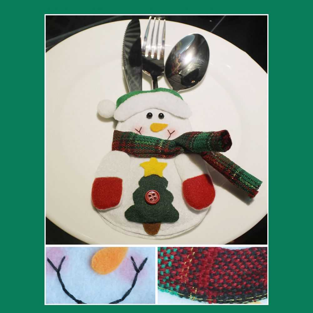 Christmas Knife and Fork Bag