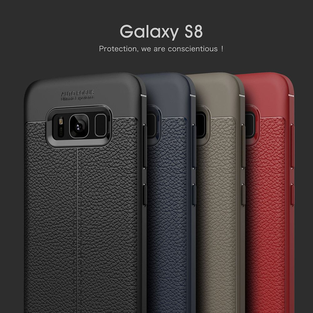 Case for Samsung Galaxy S8 Shockproof Back Cover Solid Color Soft TPU