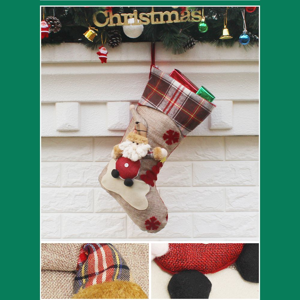 Christmas Stocking Gift Bag