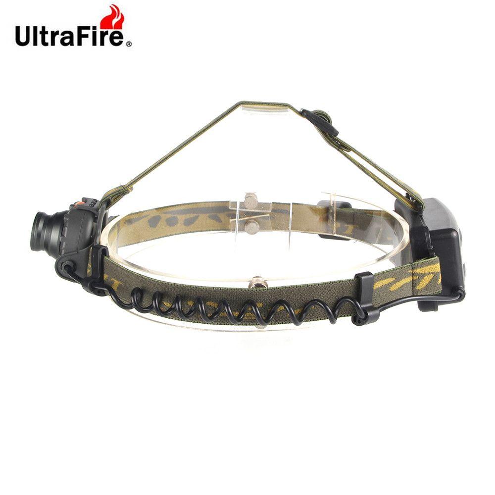 UltraFire Headlights XML - T6 389LM 3 Modes Light Sensor