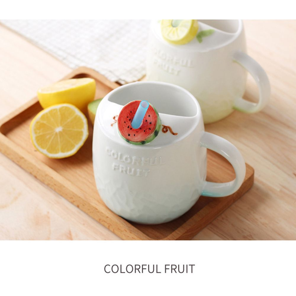 475ML Summer Fruit Ceramic Cup