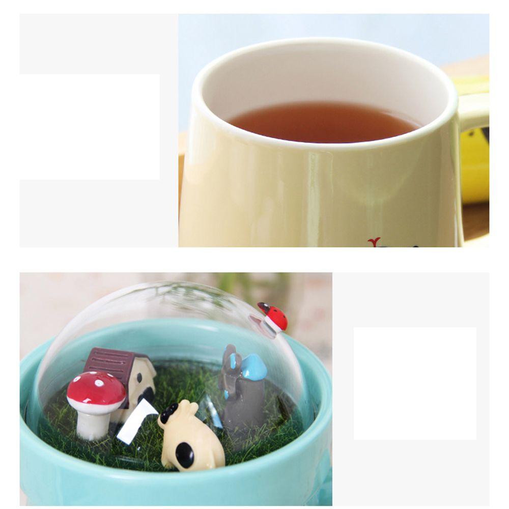 400ML Creative Micro Landscape Ceramic Cup
