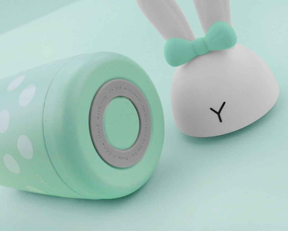 400ML Cute Cartoon Rabbit Stainless Steel Thermos