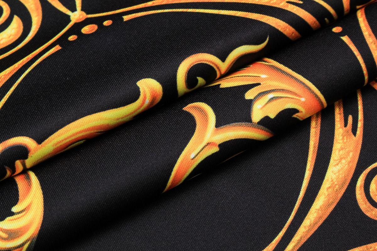 Men's Luxury Court 3D Digital Printed Short Sleeves T-shirt