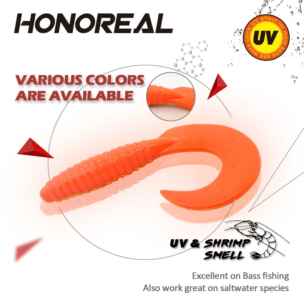 HONOREAL 8.5CM Artificial Bait Fishing Lures 3PCS