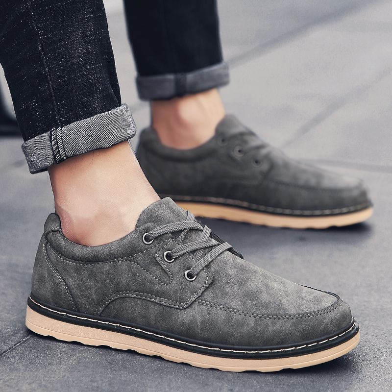 Autumn Men Fashion Leather Shoes