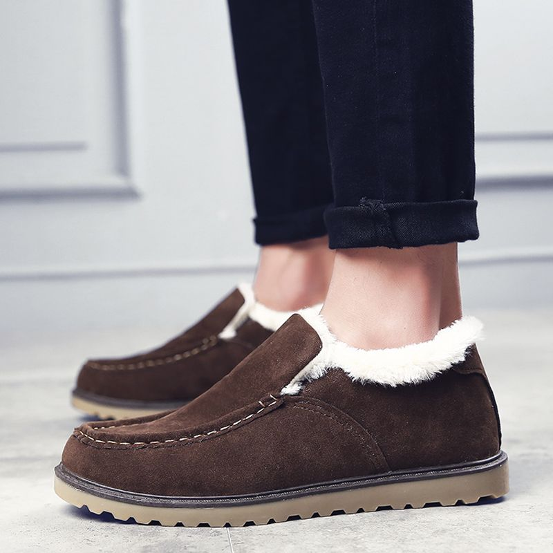 Winter Warm Leisure Cotton-Padded Boots