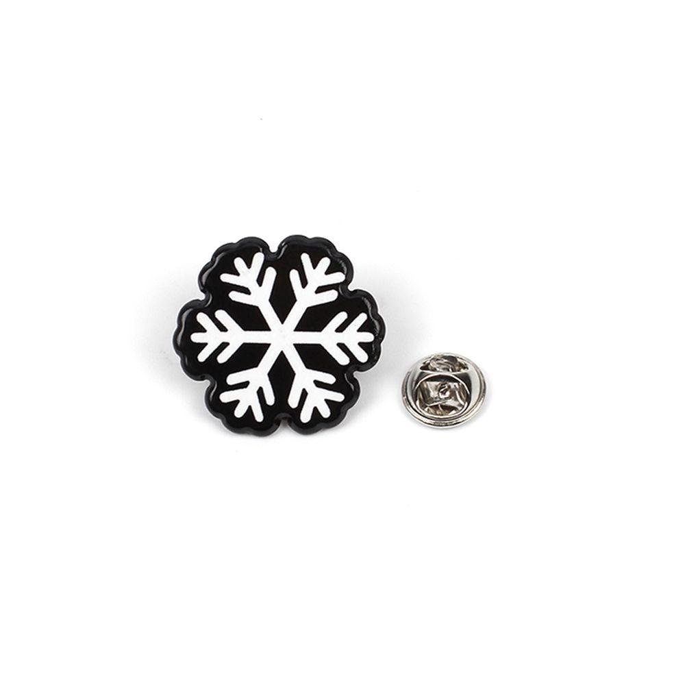Christmas Series Tree Snowman Corsage Elk Cute Badge Set