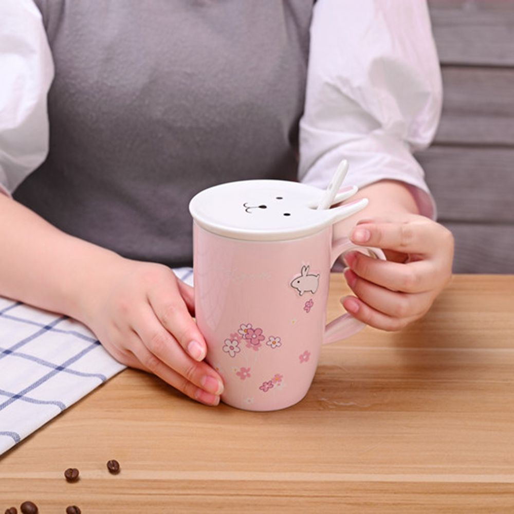 450ML Cherry Blossom Breakfast Mug