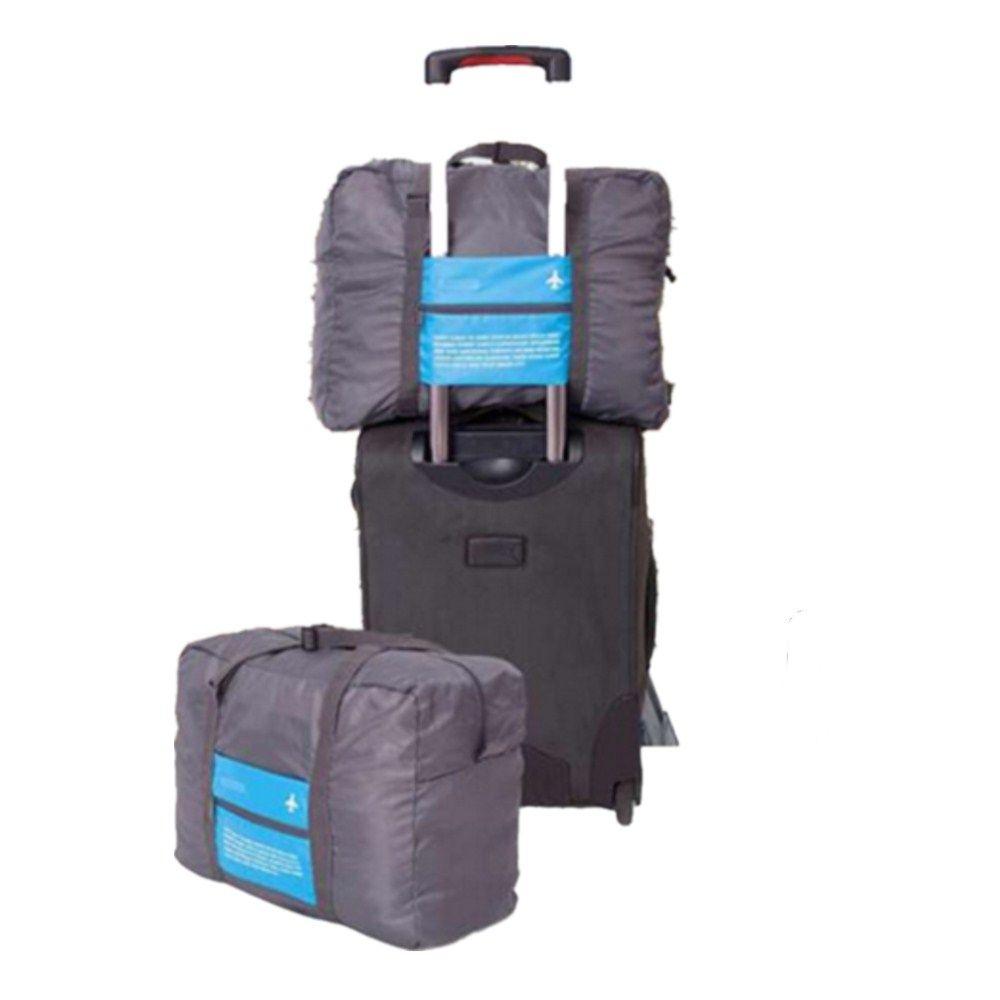 Crank Shaped Large Capacity Folding Travel Luggage Bag