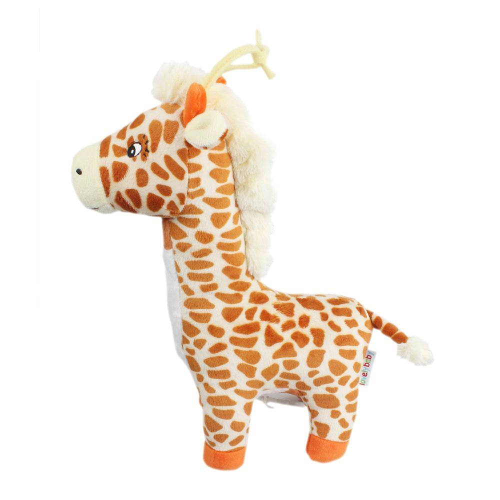 Giraffe Style Plush Toy with Music