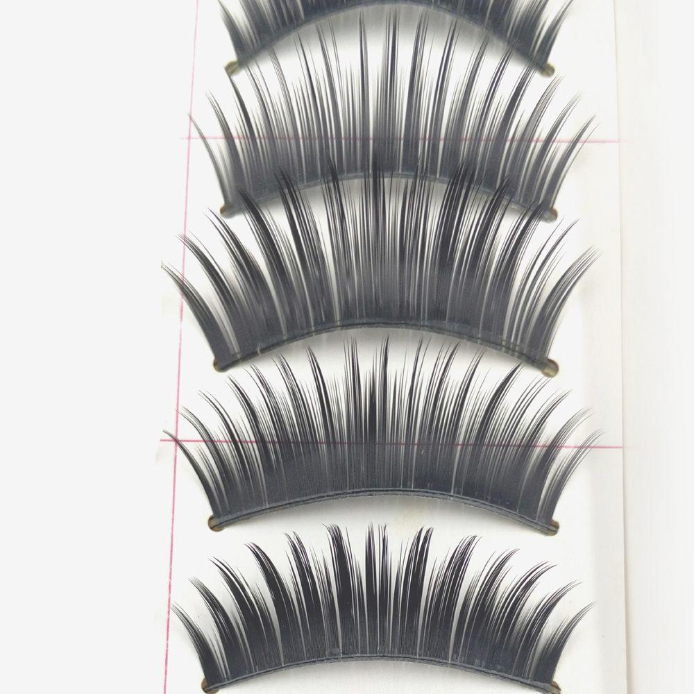 6 in 1 Black Thick False Eyelash Glue Suit