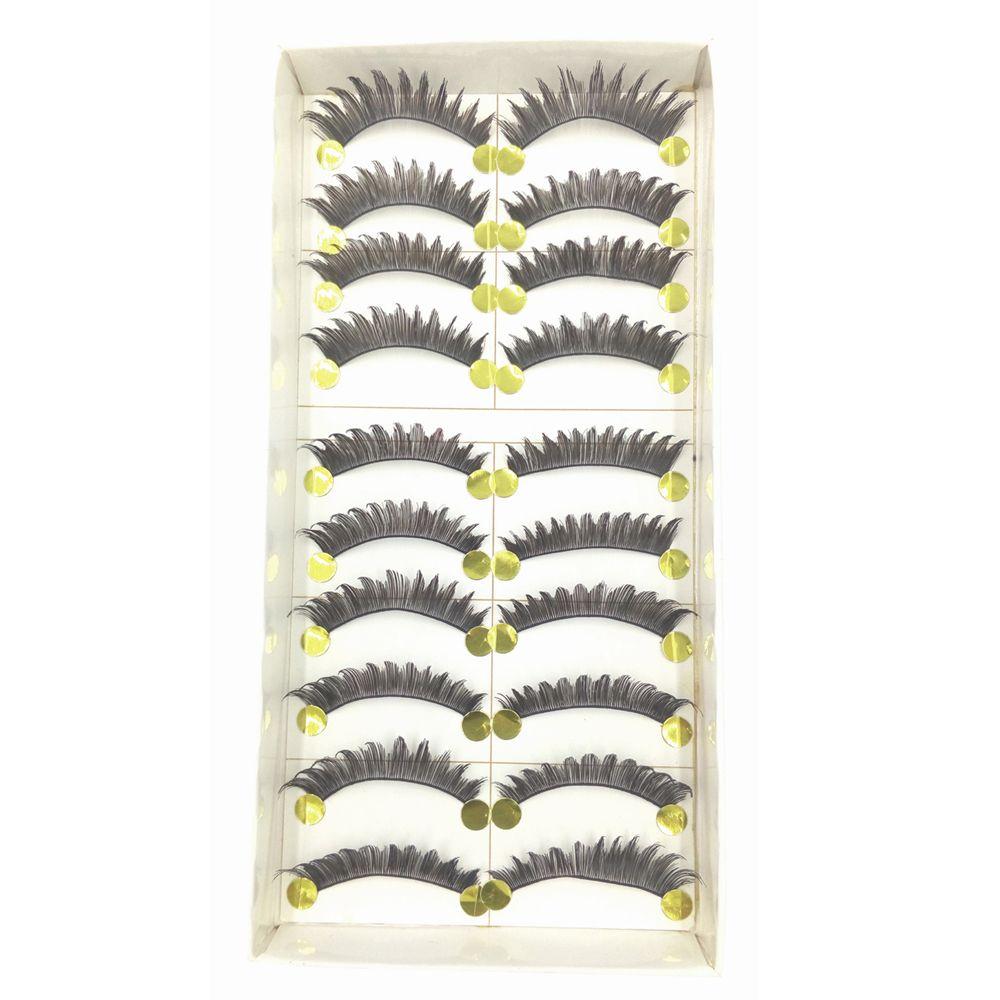 5 in 1 Handmade Black Thick and Lower False Eyelash Tool Kit Suit