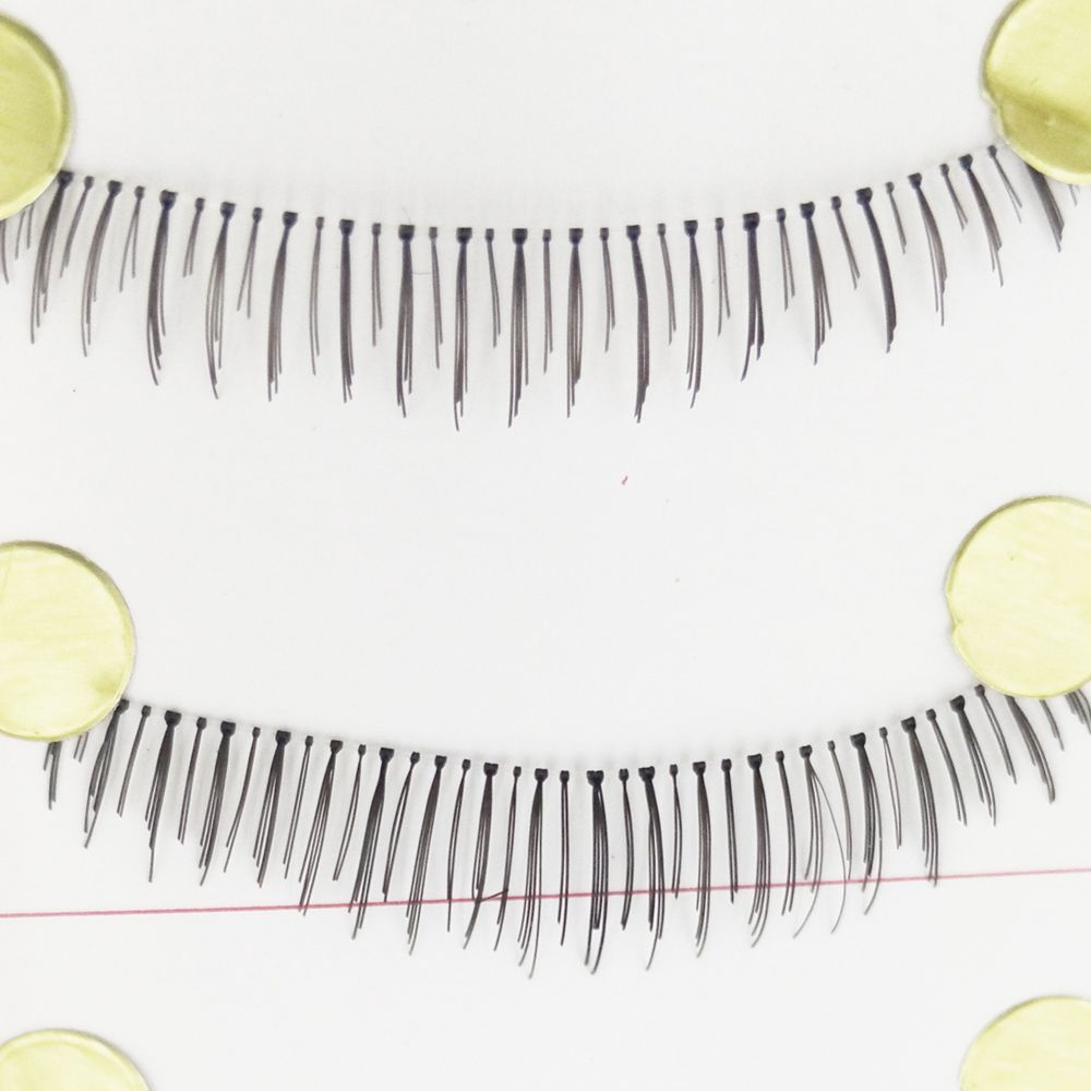 7 in 1 Fiber Black Thick and Lower False Eyelash Tool Kit Suit