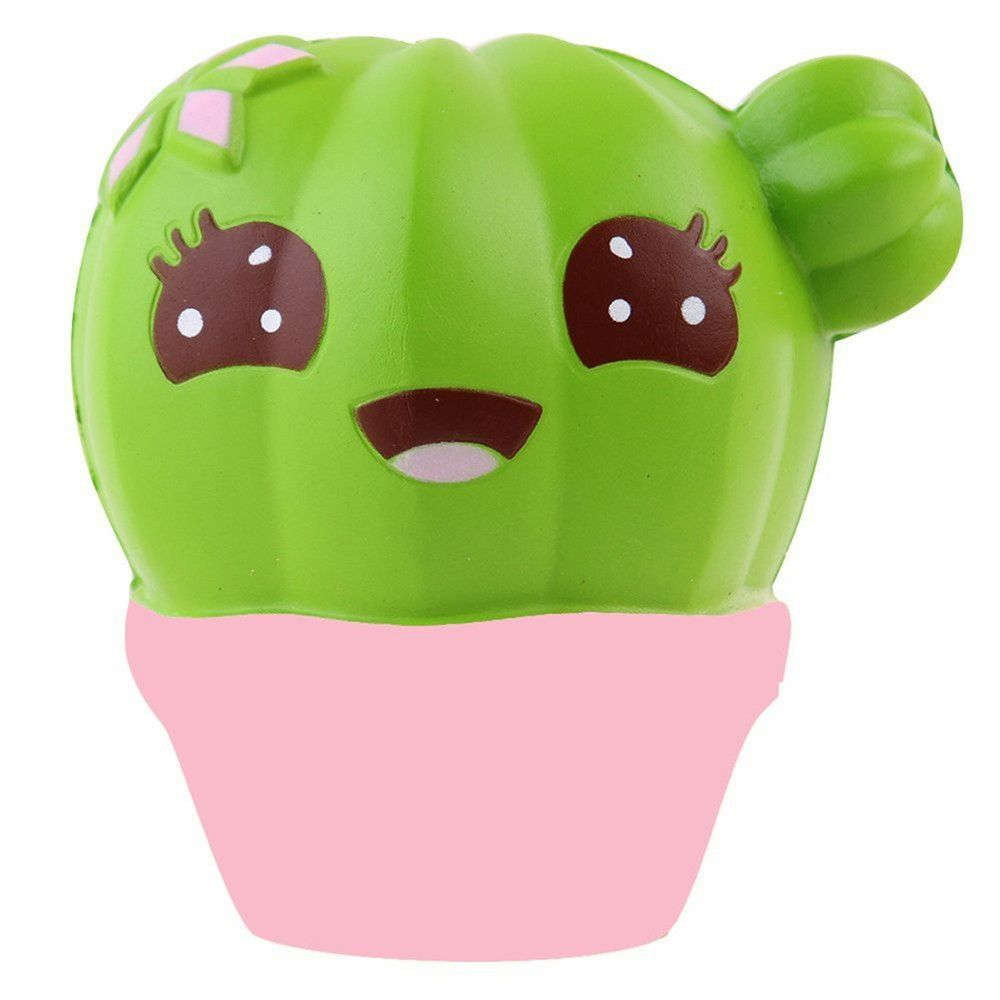 Squishy Cactus Scented Jumbo Slow Rising Relief Toy