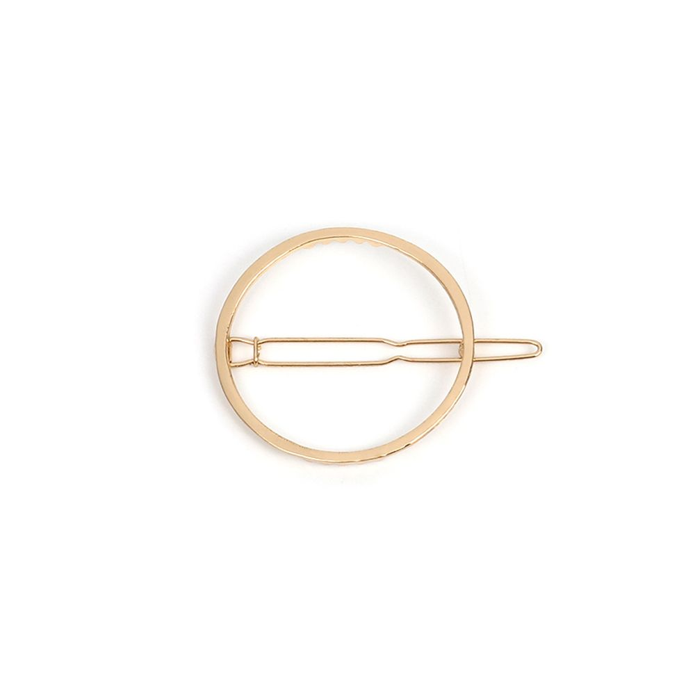 Lady Geometry Combo Set Simple Metal Hairpin Hair Accessories