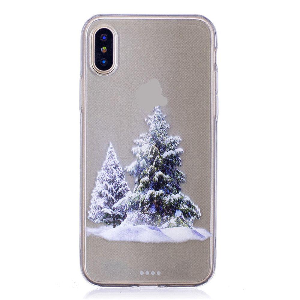 Santa Claus Christmas Deer Phone Sets for iPhone X