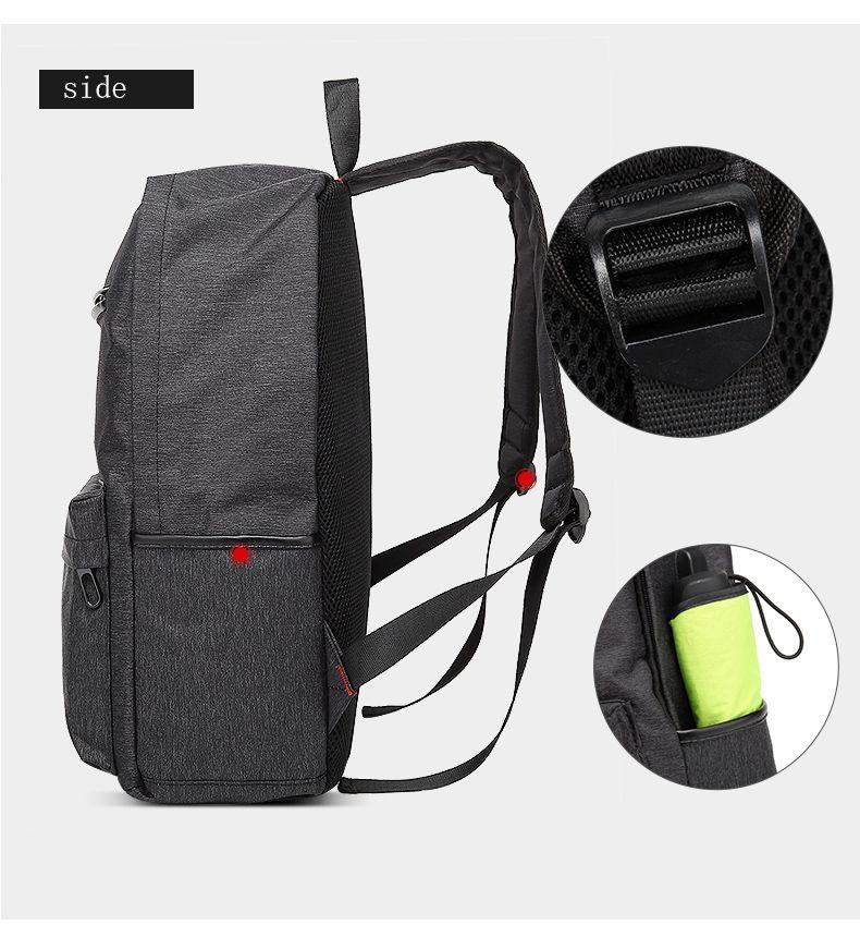 AUGUR Design Backpacks Multifunction USB Charging Men  Casual Travel Teenager Student School Bags