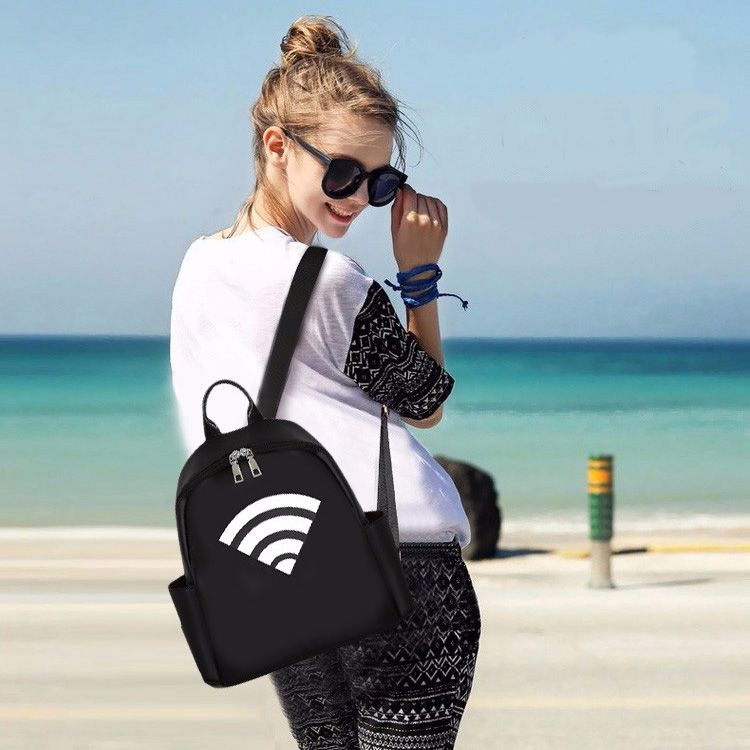 New Luxury Design Backpack Fashion All Match Lady Shoulder Bag
