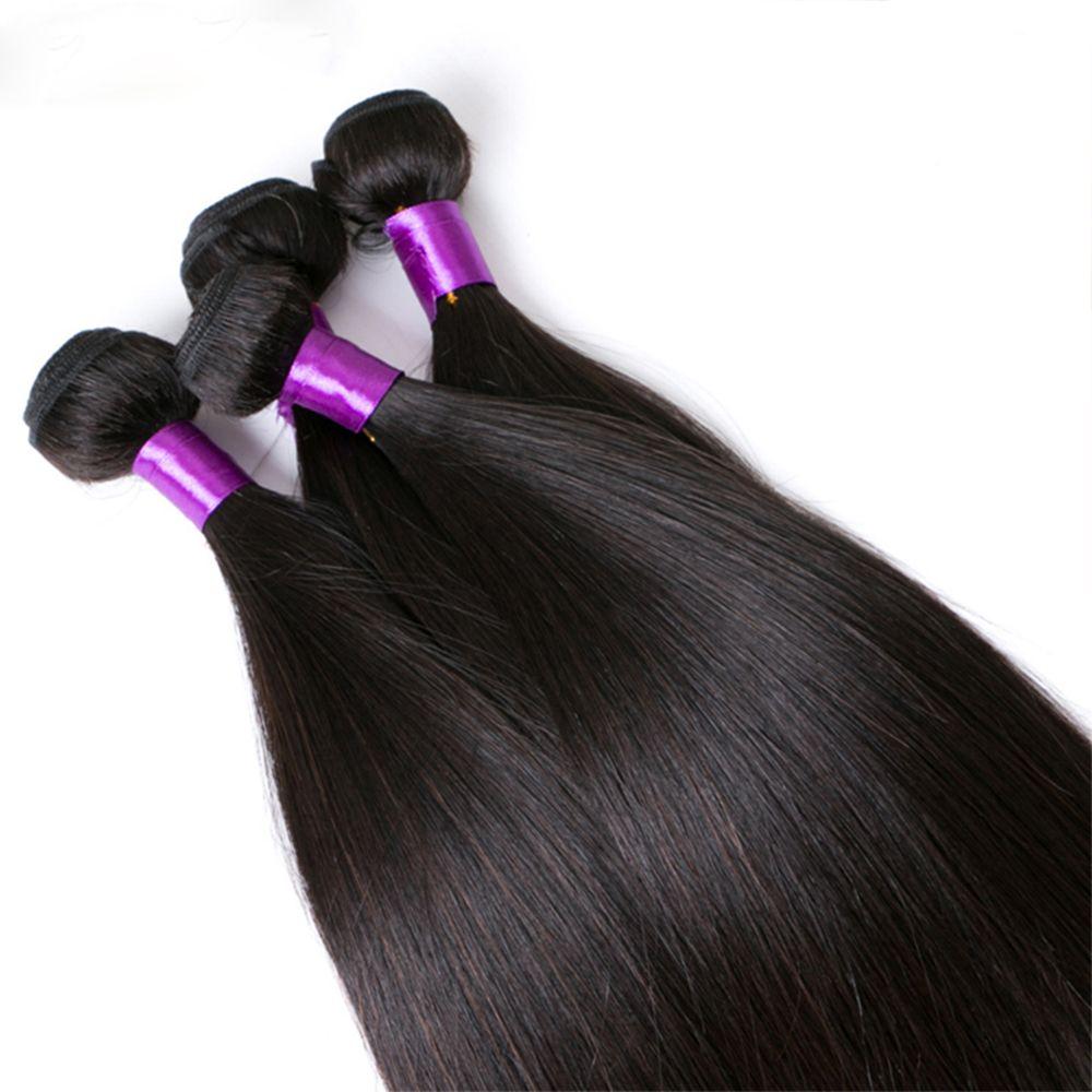 Brazilian Human Hair Remy Extension Weaving 10 - 28inch