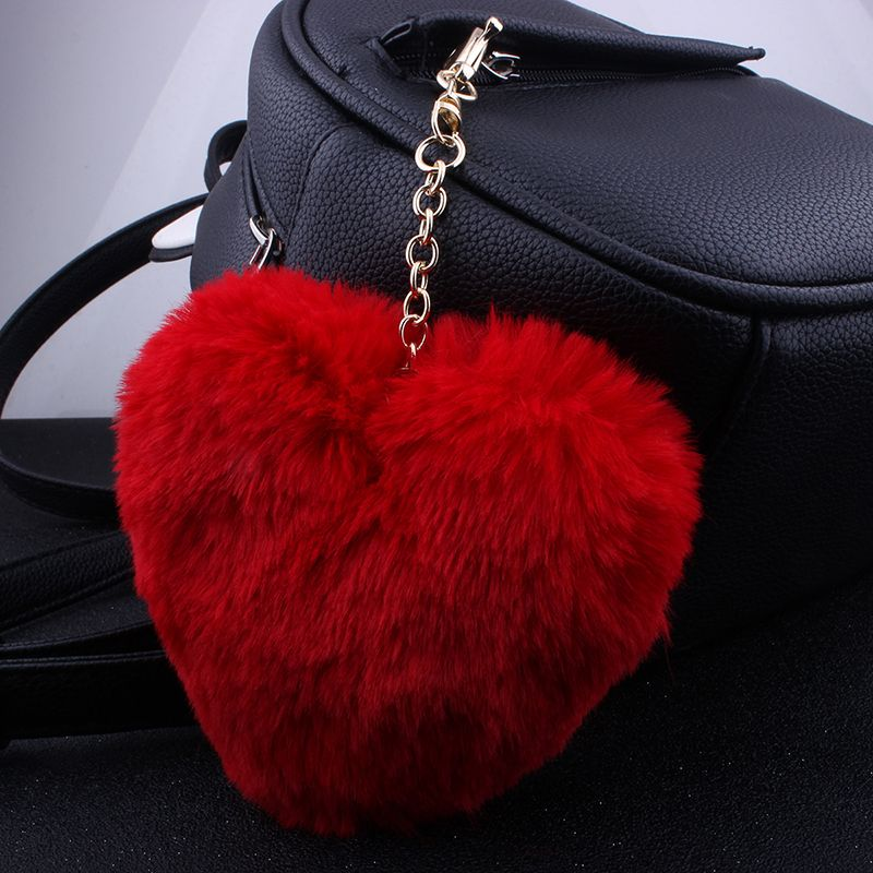 Love Plush Multi-style Girls Bag Pendant Accessories Key Ring