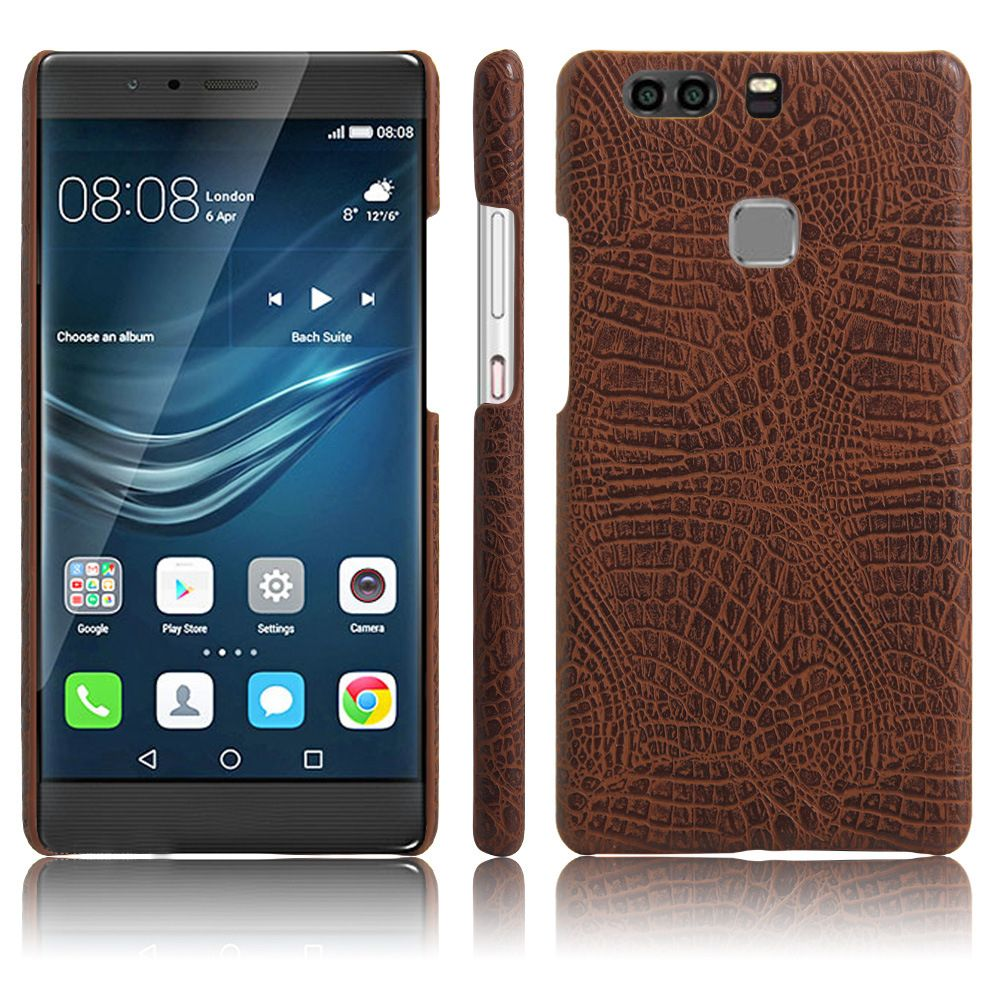 XY3 Mobile Phone Protective Sleeve Leather Crocodile Tattoo Stickers for HUAWEI P9 Plus
