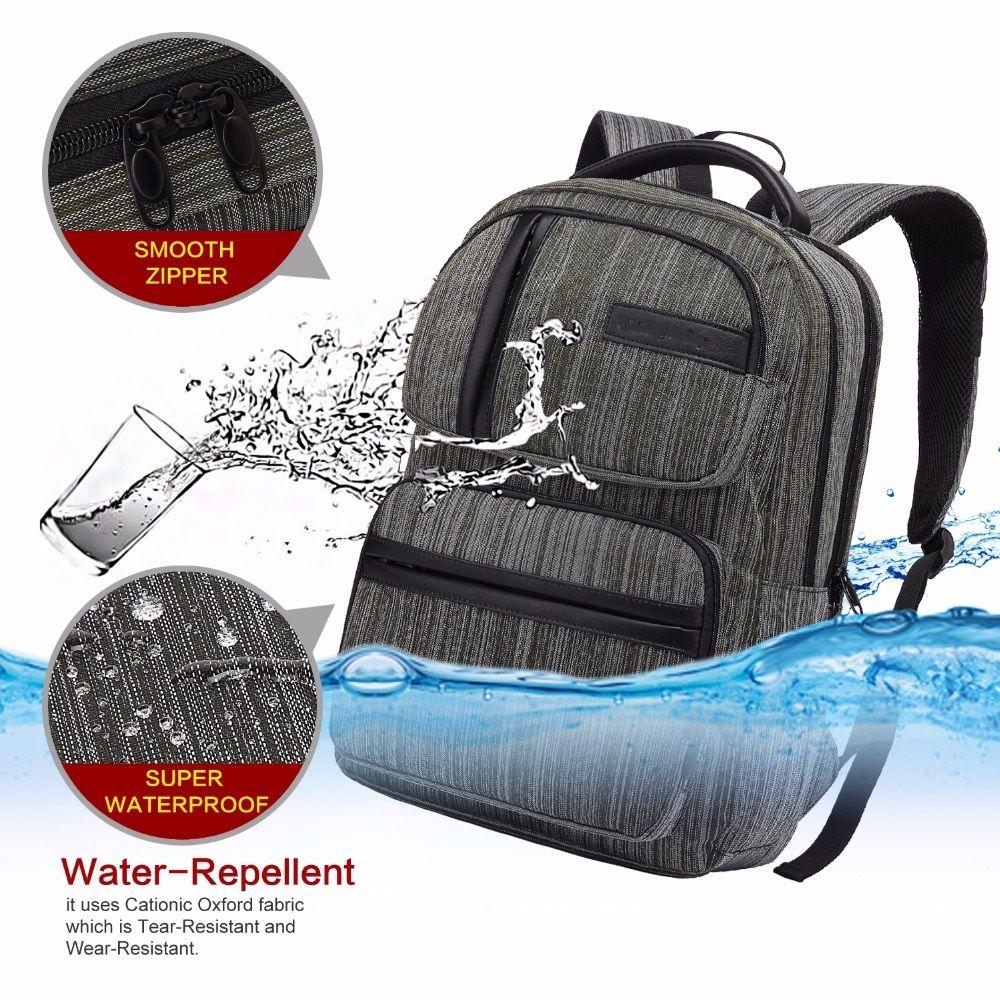 WalkingToSky Brand Backpacks for Men Women School Bag 15.6 Inch Computer Classic Business Bags Travel College