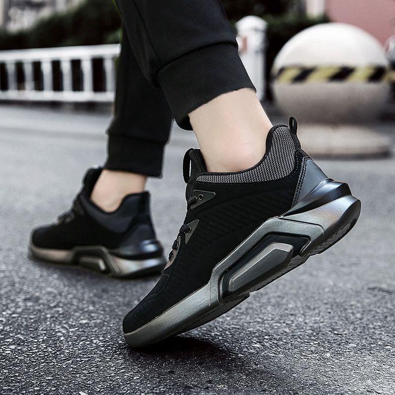 Men Dark Style Leisure Sport Shoes