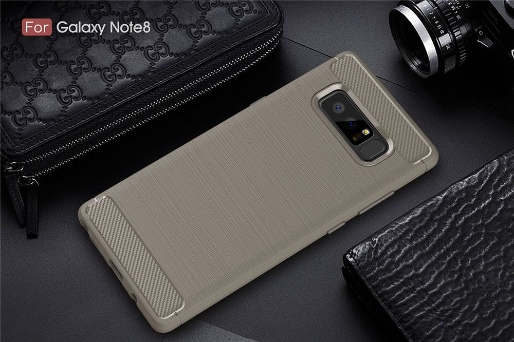 Frosted Back  Case Solid Color Soft TPU for Samsung Note 8
