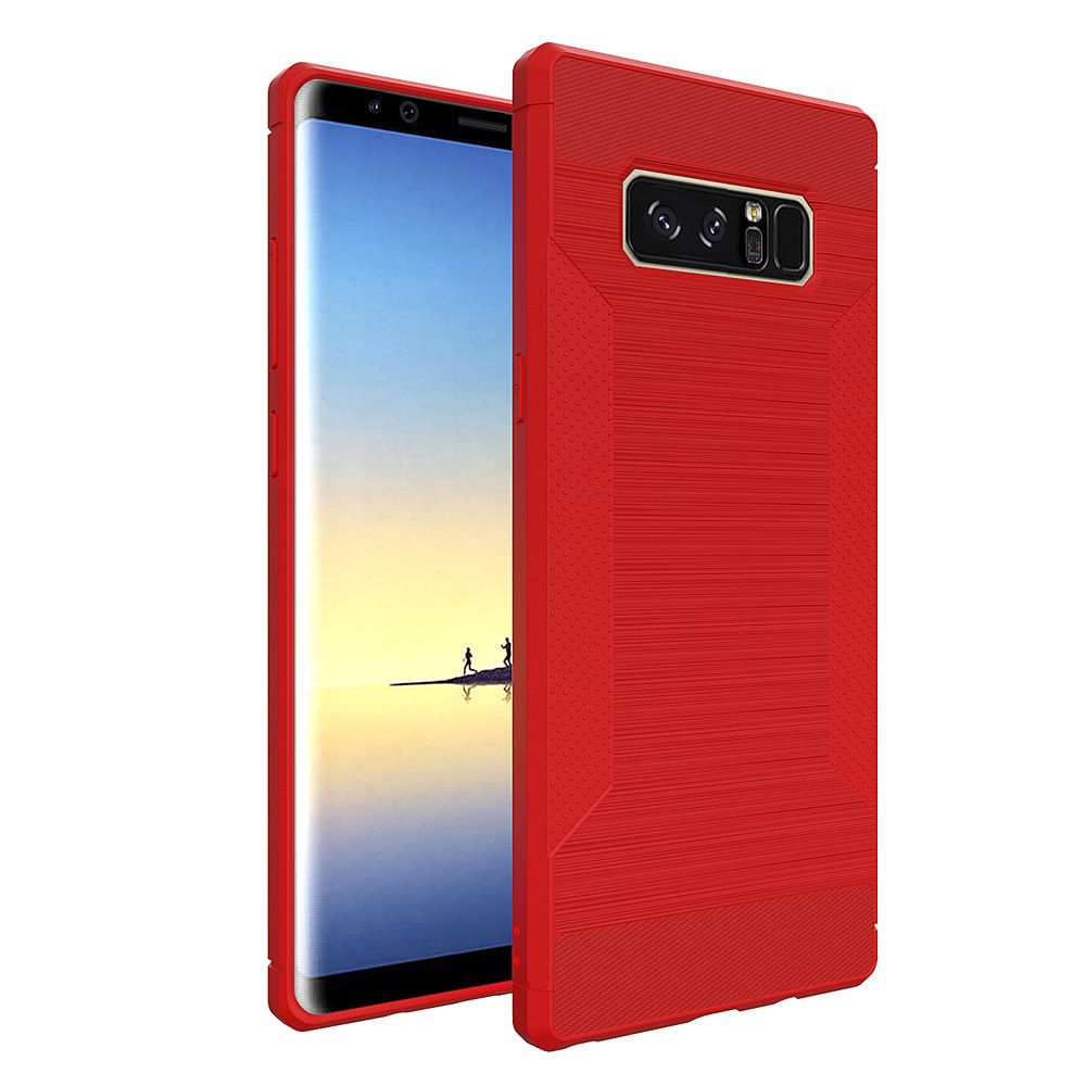 Dustproof Back Cover Solid Color Soft TPU for Samsung Galaxy Note 8 Case