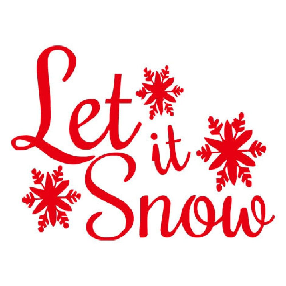 DSU Christmas Snowflake Wall Sticker for Kids Room