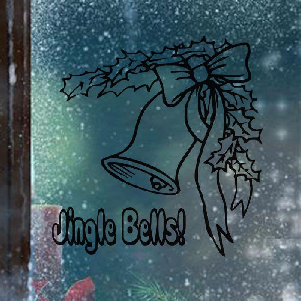DSU Christmas Wall Sticker Window Glass Decorative Happy New Year