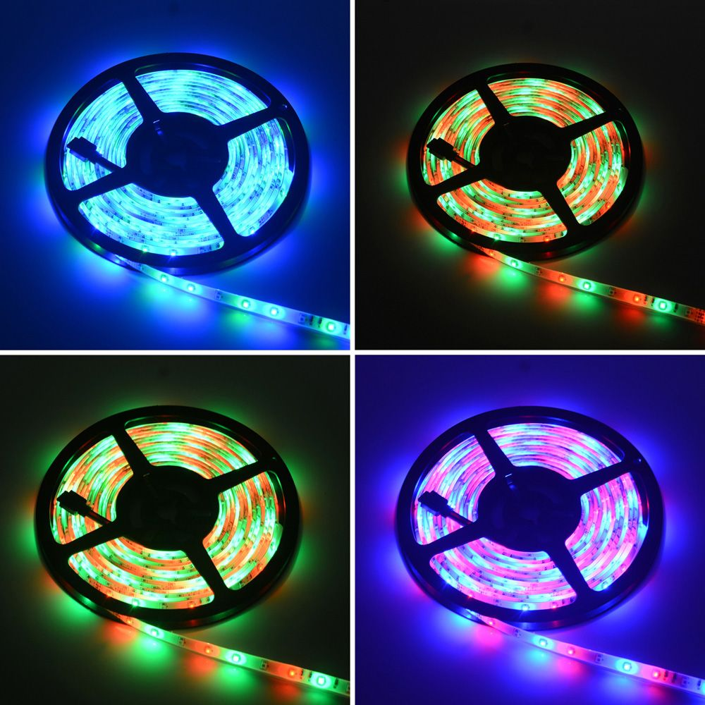 2018 hml 5m rgb waterproof led strip light 2835 smd 300 leds with rf hml 5m rgb waterproof led strip light 2835 smd 300 leds with rf 10 keys remote aloadofball Gallery