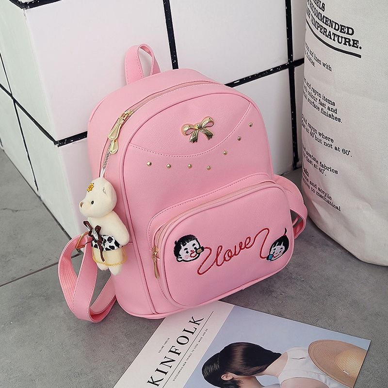 New Design Shoulder Bag Fashion All Match Casual Backpack Women
